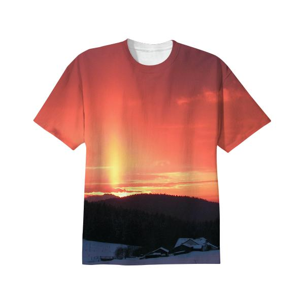 Snowy Sunset Shirt