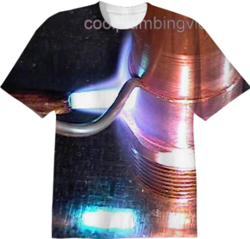 solder copper piper t shirt