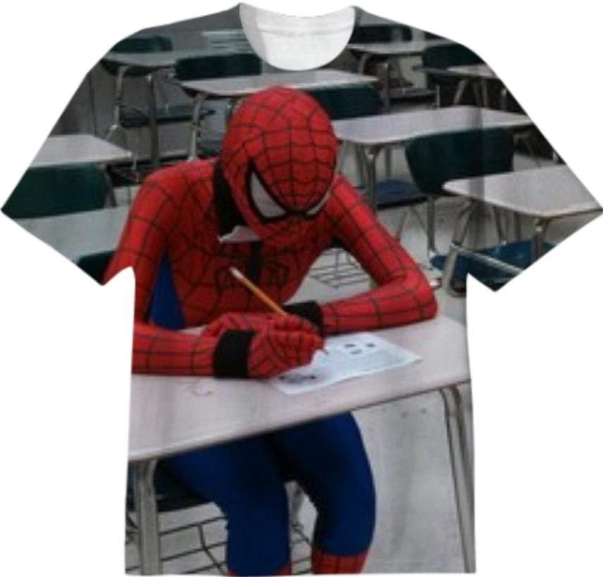 Spiderman Goes To School
