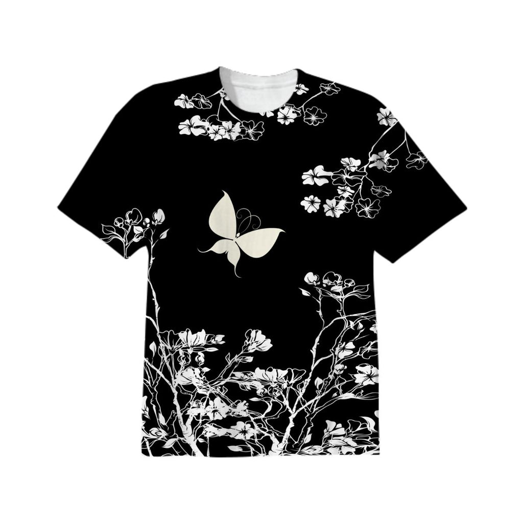 Stylish black and white Butterfly
