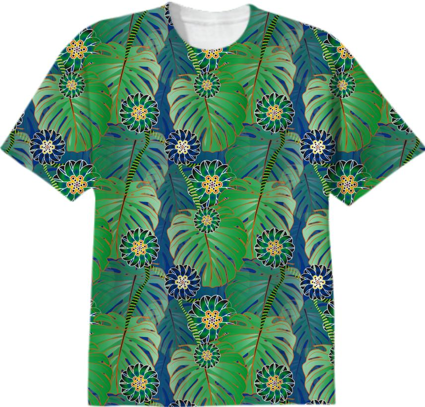 Tropical Plant T shirt