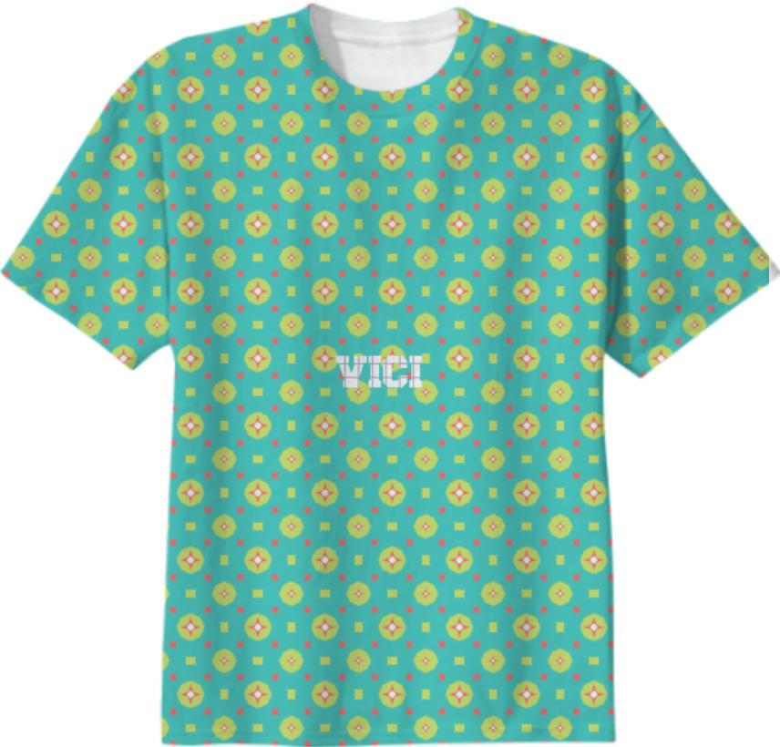 Vici Turq Casual II T Shirt BY Hammond Ozakpolor