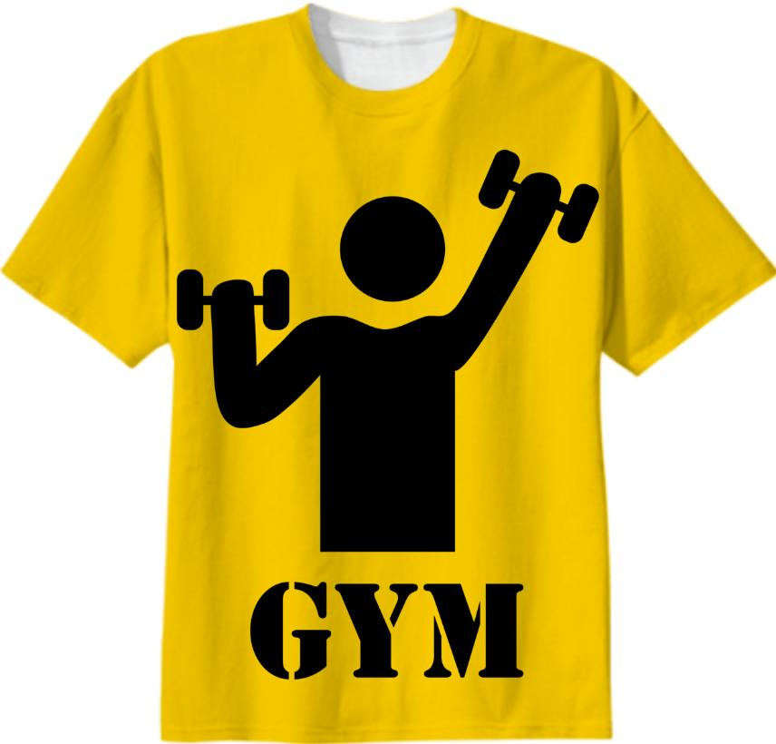 Yellow Gym Icon 250DPI