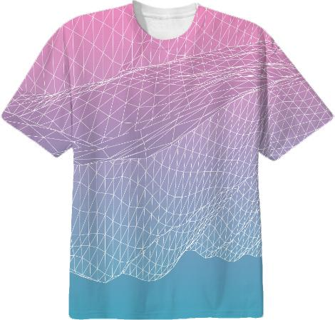 2 MESH COUTURE SHIRT