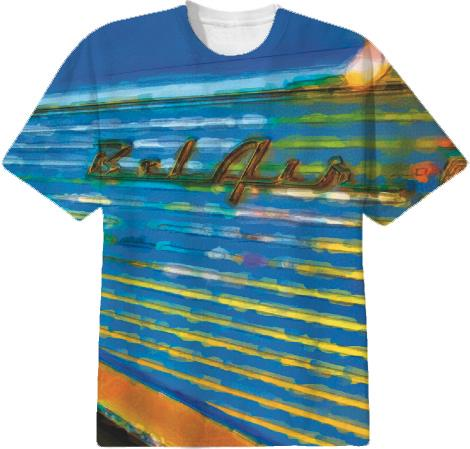 Chevy Bel Air Watercolor Tee