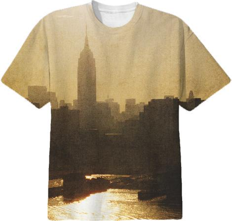 Empire State Building Gold