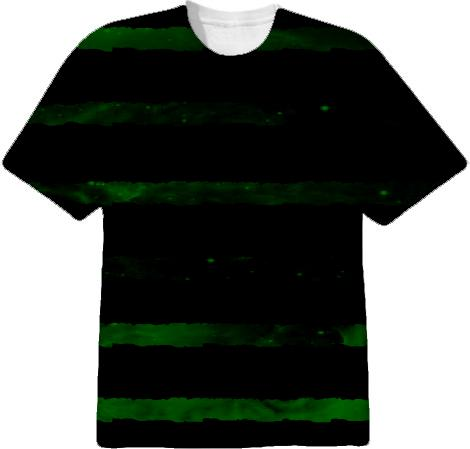 Green Grunge Stripe