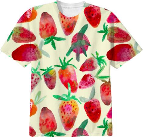Juicy Strawberry Print