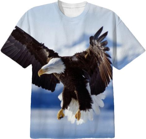 NATURE ANIMAL Hawk T shirt