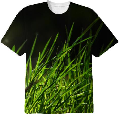 NATURE Tall grass T shirt