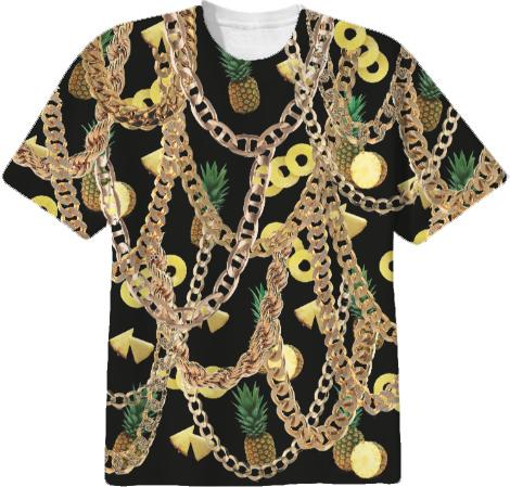 Pineapple Chainz Gold