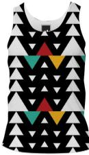 African Triangle Love Men s Tank