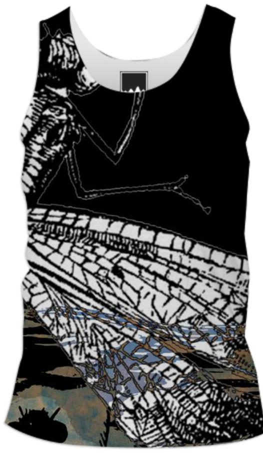 Dragonflies Tank Top Men 2