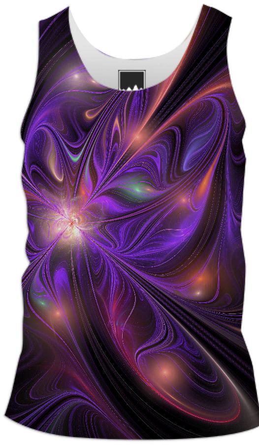 FireFly Flower Tank top for men