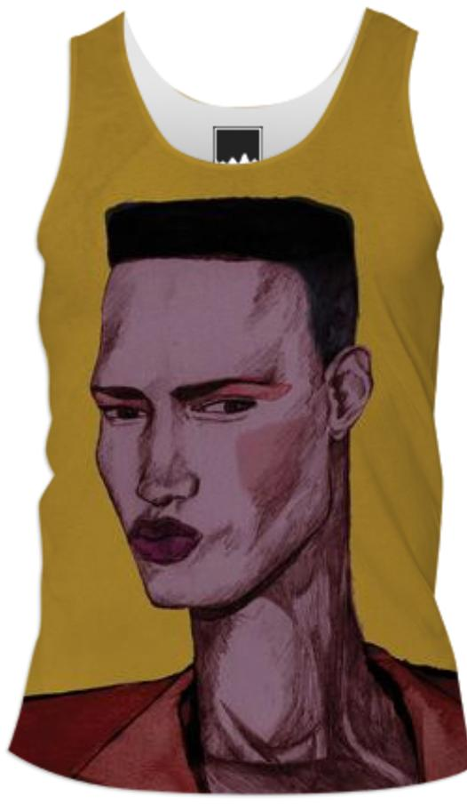 Grace Jones Men s vest top