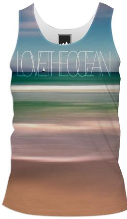 Love the ocean II Tank top Men 1