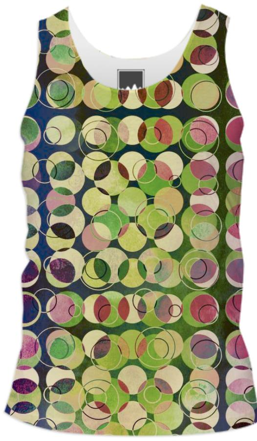 MELANGE OF CIRCLES V Tank Top Men I