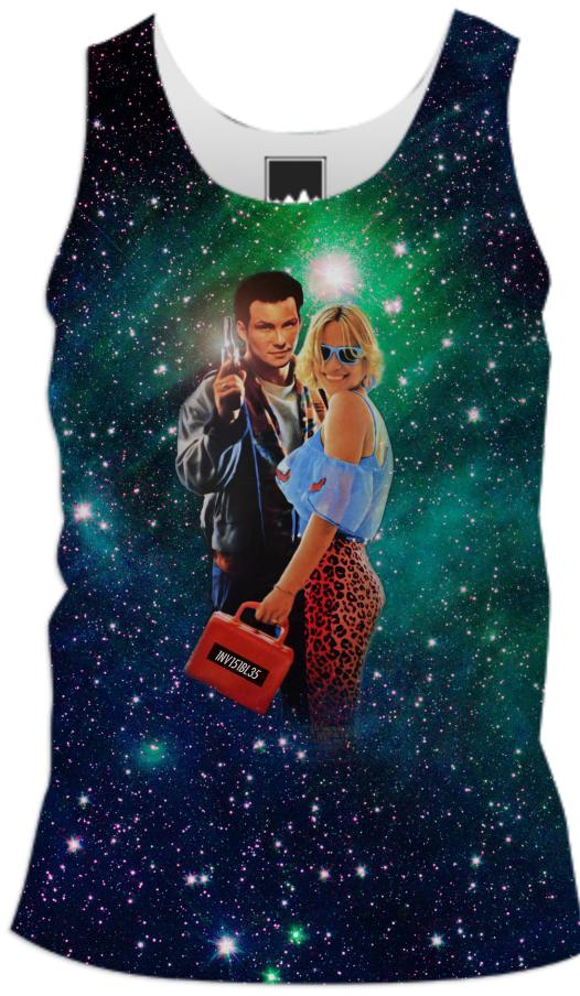 True Cosmic Romance Men s Tank