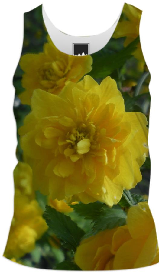 Yellow Flowers 1701 Men s Tank