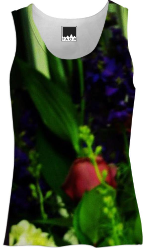 Abstract Bouquet Tank