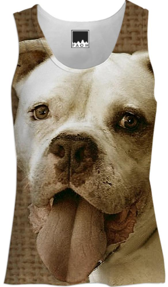 American Bulldog Womens tank top