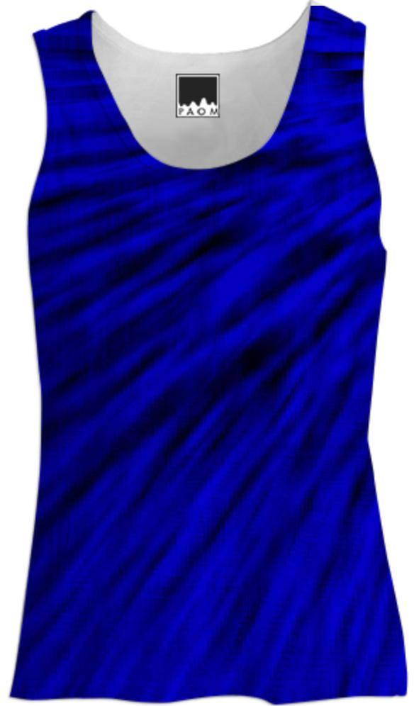 Black Ocean Blues Tank Top
