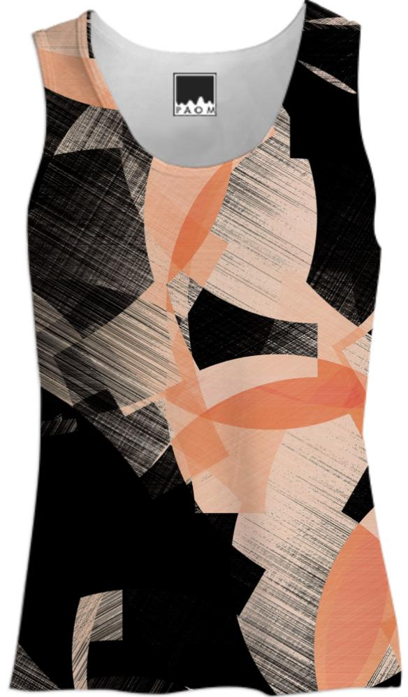 CUBIST FLOWER TANK TOP WOMEN