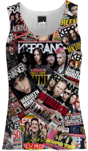 Kerrang Cover Girls Tank Top