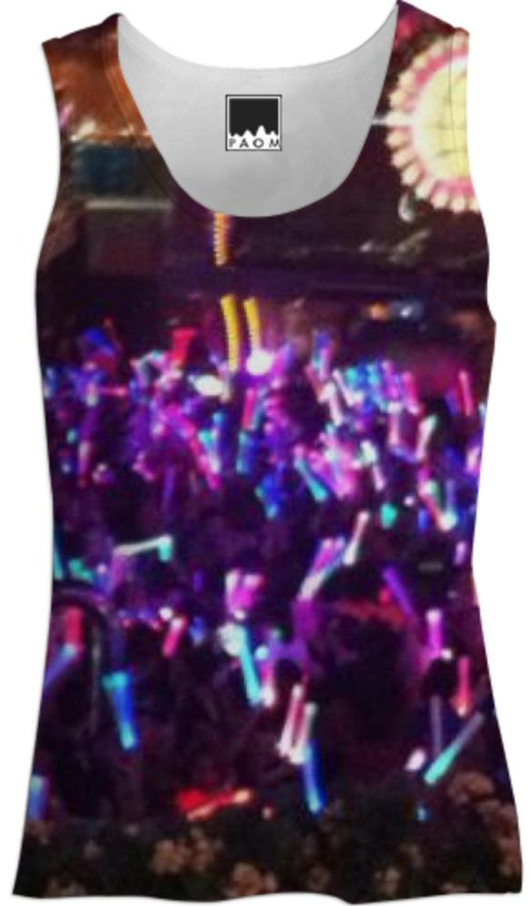 Rainbow Lights Party Tank