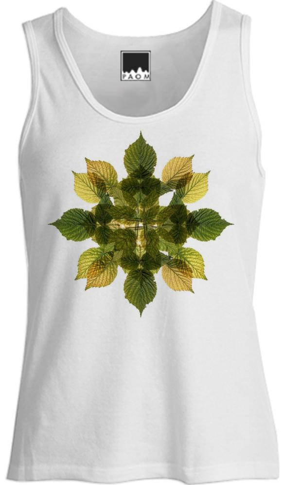 Raspberry Mandala Tank Top