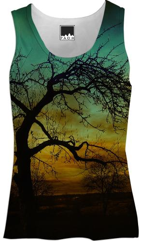 Teal Skies Tank Top