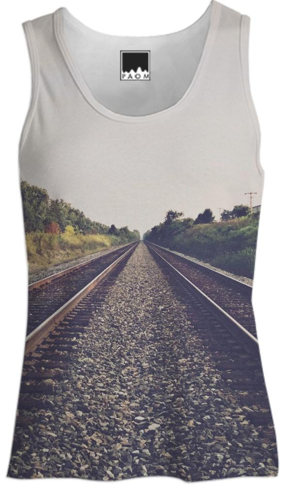Tracks Women s Tank Top