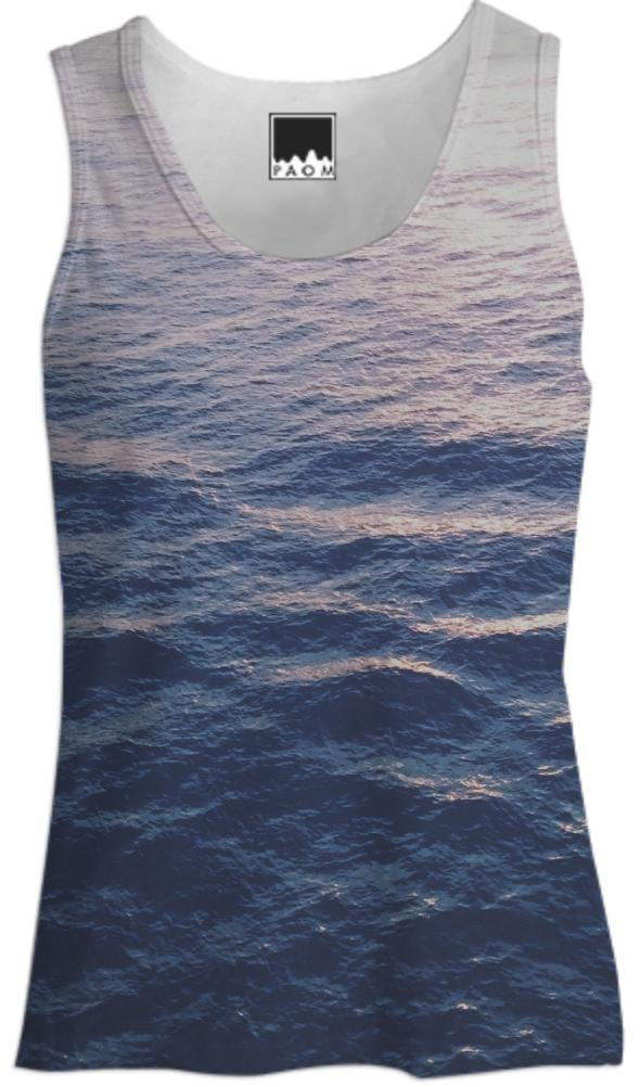 Waves Women s Tank Top