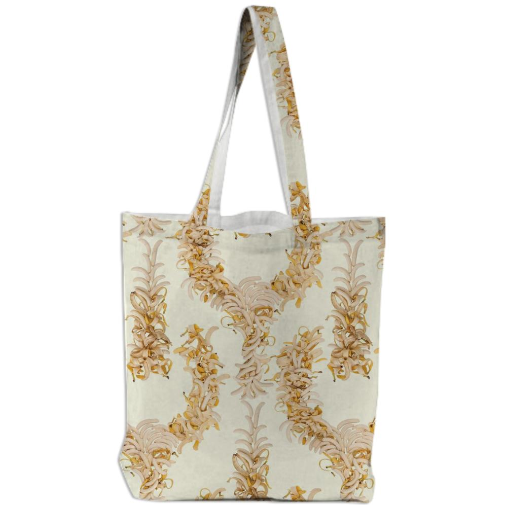 Bananas On A Cream Background Tote Bag