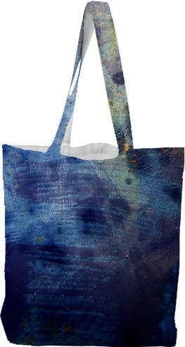 Blue Purple Texture Tote