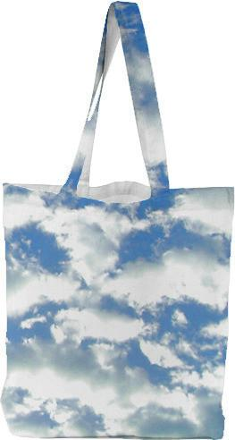 Clouds Tote Bag by Valxart