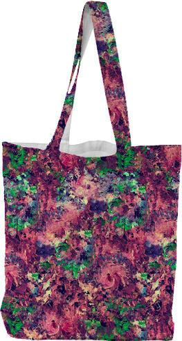DigiFlora Tote Bag