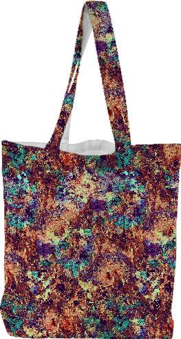 DigiFlora Alternate Colorway Tote Bag