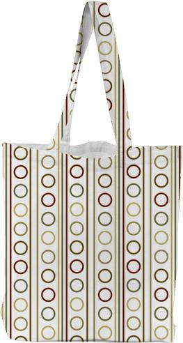 Earth Tones circle and stripe modern pattern