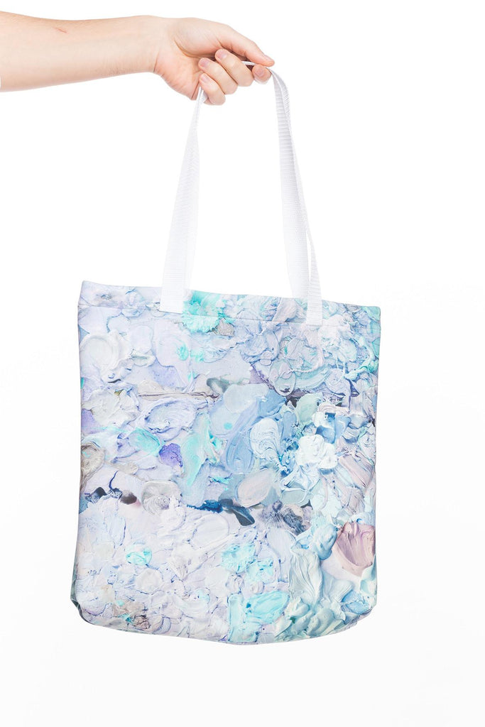 PAOM, Print All Over Me, digital print, design, fashion, style, collaboration, nada-x-paom, nada x paom, Tote Bag, Tote-Bag, ToteBag, NADA, PAOM, Designed, Jose, Lerma, autumn winter spring summer, unisex, Poly, Bags