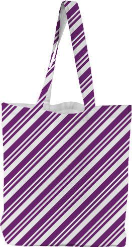 Purple Diagonal Stripes