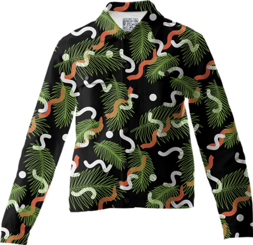 PAOM, Print All Over Me, digital print, design, fashion, style, collaboration, jshmck, Twill Jacket, Twill-Jacket, TwillJacket, Concrete, Junglist, Barbican, autumn winter, unisex, Cotton, Outerwear