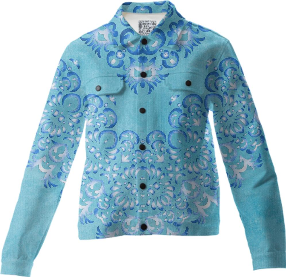 Floral Fairy Tale Twill Jacket