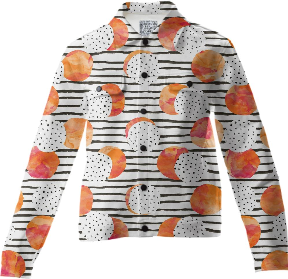 Fruity Orange Twill Jacket
