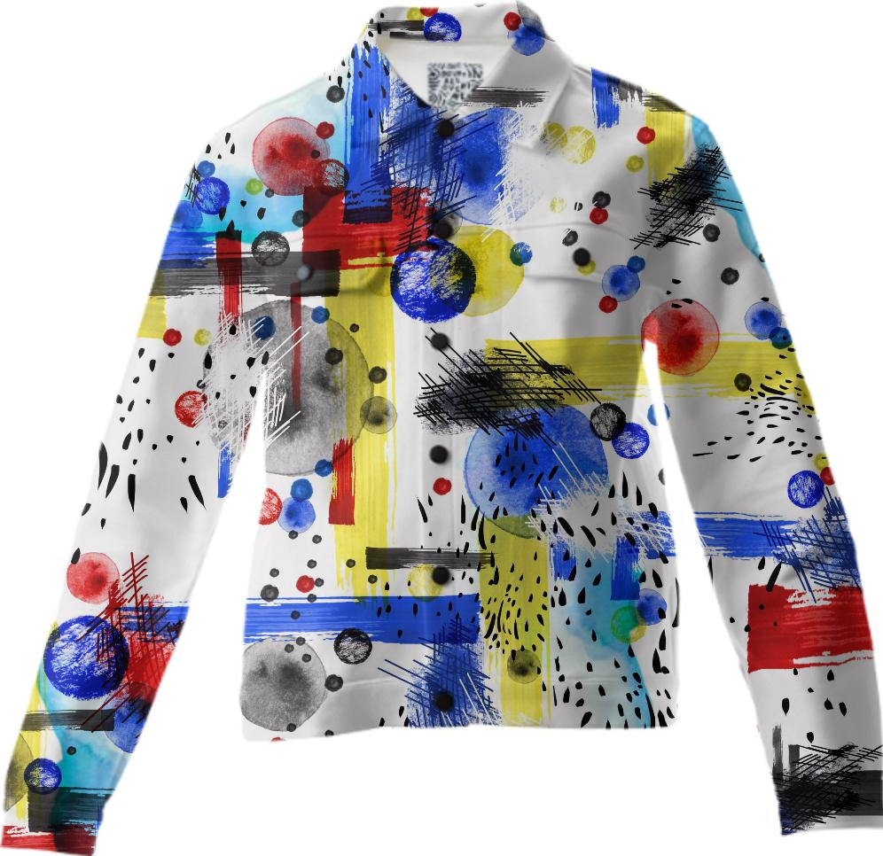 Geo Abstract Jacket