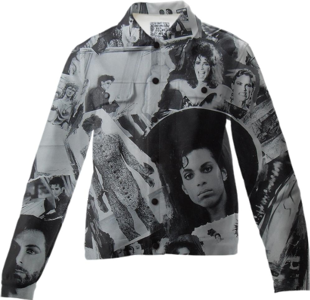 Prince Parade Collage Twill Jacket