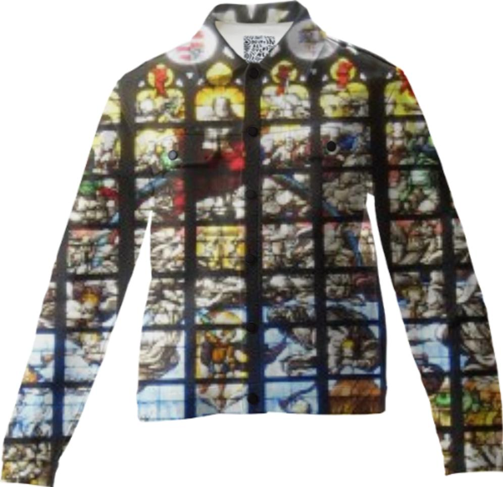 Stained Glass Twill Jacket
