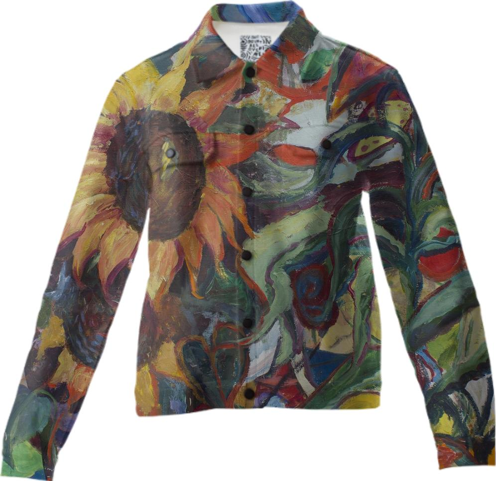 Sunflower Garden Twill Jacket