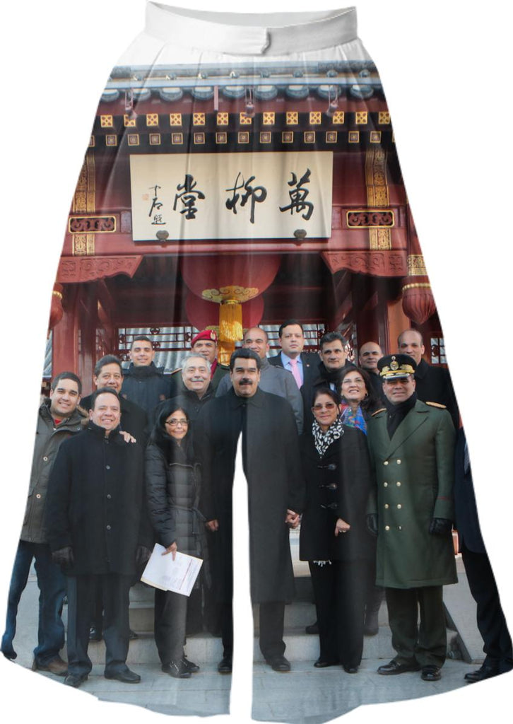 Ours pants are made in Chine