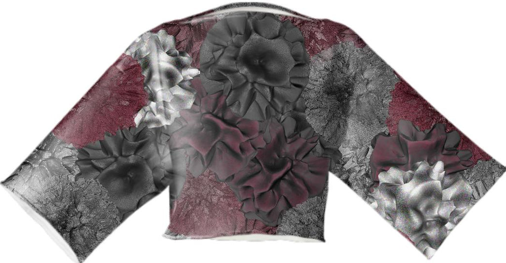 Fractal Flower Garden Wireframe VP NEOPRENE BLOCK TOP
